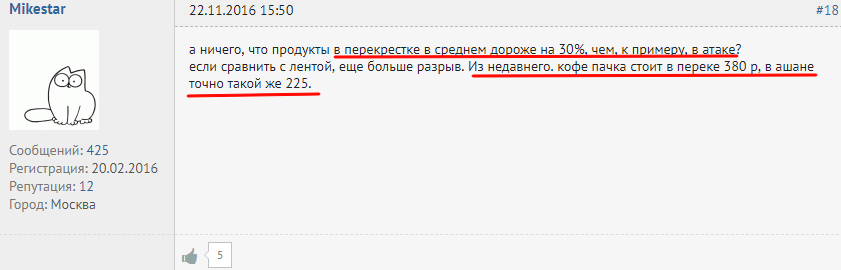 """Негативный отзыв а карте Альфа Банка """"Перекресток"""""""